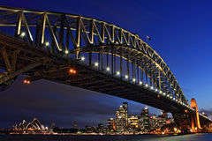 Die berühmte Brücke stockbild