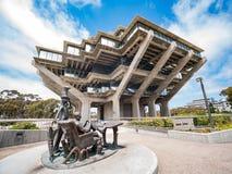 Die berühmte Geisel-Bibliothek von Universtiy von Kalifornien San Diego Lizenzfreie Stockfotografie