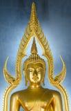 Die berühmte goldene Buddha-Statue in Wat Benchamabophit in Bangkok Lizenzfreies Stockbild