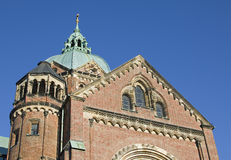 Die berühmte Kirche Lukas in München in Deutschland Stockfotos