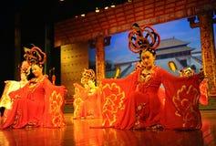 Die berühmte Tang-Dynastieshow Stockbilder