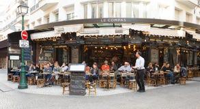Die berühmte traditionelle Bistros Schnecke, Paris, Frankreich Stockbild