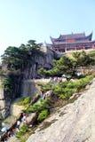 Die berühmten Berge des chinesischen Buddhismus jiuhuashan Lizenzfreie Stockfotos