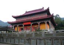 Die berühmten Berge des chinesischen Buddhismus jiuhuashan Lizenzfreie Stockfotografie