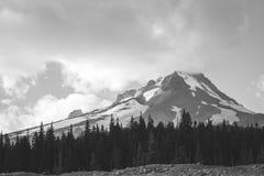Die Berg-Haube, Schwarzweiss redigieren Stockfoto