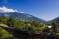 Die Berge Lizenzfreies Stockfoto