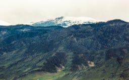 Die Berge Stockfoto