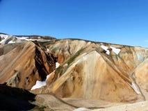 Die Berge bei Landmannalaugar Stockfoto