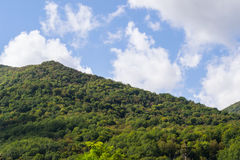 Die Berge des Kaukasus Lizenzfreie Stockfotos