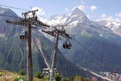 Die Berge Dombaya Lizenzfreies Stockbild