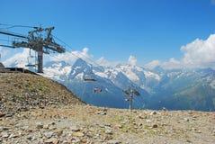 Die Berge Dombaya Stockbilder