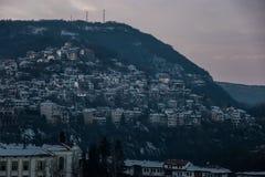 Die Berge haben ihre Geheimnisse Stockfotografie