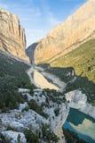 Die Berge in Montseny lizenzfreie stockbilder