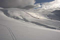 Die Berge in Sinaia. Lizenzfreies Stockfoto