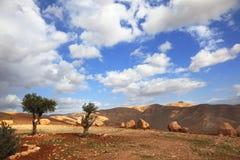Die Berge von Samaria Lizenzfreie Stockbilder