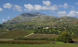 Die Berge von Sizilien Lizenzfreie Stockfotos