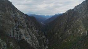 Die Berge von Sochi stock footage