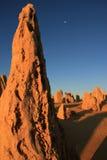 Die Berggipfel Stockbild