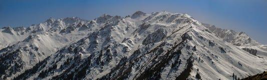 Die Berglandschaften Stockfotos