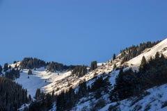 Die Berglandschaften Lizenzfreies Stockfoto