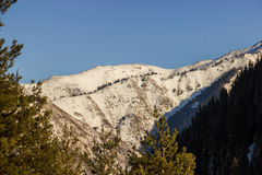 Die Berglandschaften Stockfotografie