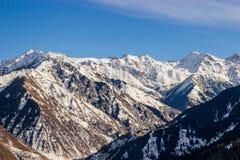 Die Berglandschaften Lizenzfreies Stockbild