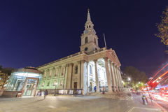 In die berühmten St.-Martin-in-d-Felder reisen, London, vereinigt Stockfotografie