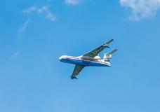 Die ` Beriev Be-200 ES Altair ` Art vielseitiges amphibisches Flugzeug Stockfotografie