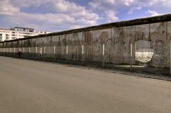 Die Berliner Mauer Stockfoto