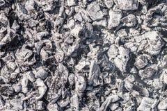 Die Beschaffenheit der Asche Natürlicher Hintergrund der grauen Asche lizenzfreies stockfoto