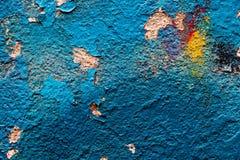 Die Beschaffenheit der blauen Farbe Lizenzfreie Stockbilder