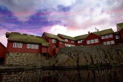 Die Beschaffenheit der Färöer Lizenzfreies Stockfoto