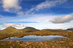 Die Beschaffenheit der Färöer Lizenzfreie Stockbilder