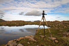 Die Beschaffenheit der Färöer Stockbild