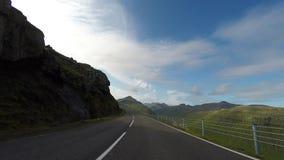 Die Beschaffenheit der Färöer stock video