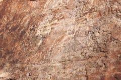 Die Beschaffenheit der Felsen Lizenzfreie Stockbilder