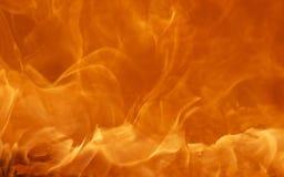 Die Beschaffenheit der Flamme Stockbild