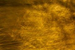 Die Beschaffenheit der Goldfarbe für Hintergrund Stockbild