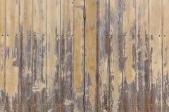 Die Beschaffenheit der hölzernen Planken, auf denen die Farbe mit Alter geknackt wird Lizenzfreie Stockbilder