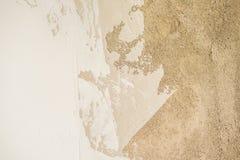 Die Beschaffenheit der Wand - Zement, Gips, Kitt lizenzfreies stockfoto