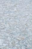 Die Beschaffenheit des Eises in des Flusses Stockbilder
