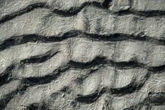 Die Beschaffenheit des gefrorenen Sandes Lizenzfreie Stockfotografie