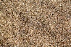 Die Beschaffenheit des Meersands Lizenzfreies Stockfoto