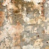 Die Beschaffenheit einer alten Wand. Stockfotografie