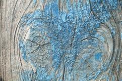 Die Beschaffenheit ist eine alte blaue Farbe Stockfotos