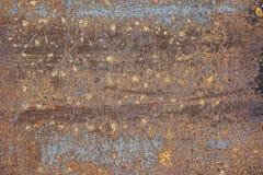 Die Beschaffenheit ist metallisch Industrieller Hintergrund von einem alten rostigen lizenzfreies stockbild