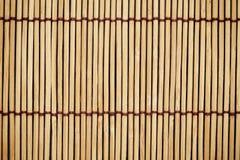 Die Beschaffenheit und das Muster des japanischen Mattenhintergrundes Lizenzfreies Stockfoto