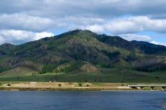 Die Beschaffenheit von Nord-Mongolei Lizenzfreie Stockbilder