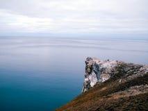 Die Beschaffenheit von Wrangel-Insel, Landschaft auf Wrangel-Insel lizenzfreies stockfoto