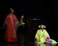 Die besiegten Königintodesfest-modernen Drama Kaiserinnen im Palast Lizenzfreie Stockbilder